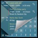 Agenda Reminder Widget