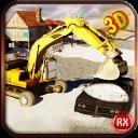 挖掘机扫雪机模拟器