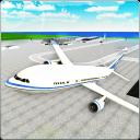 飞机飞行模拟器的3D