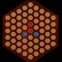 黑白棋六角