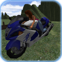 公路摩托车游戏3D