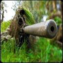 狙击手射击攻击丛林