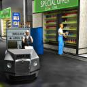 城市驱动通过超市2