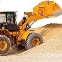 拖拉机沙挖掘机操作