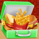 快餐儿童学校午餐盒
