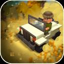 草原狩猎:广场的动物