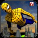 超级蜘蛛飞行英雄