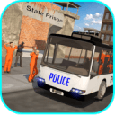 Offroad Police Bus Hill Driver