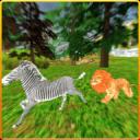 愤怒的野狮攻击模拟3D - 野生动物园野生狮子