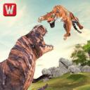 虎与恐龙冒险3D