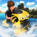 水冲浪飞机Jetski摩托车
