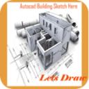 Auto Cad Building Sketch