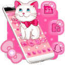 Pink Kitty Cute Theme