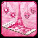 艾菲爾鐵塔粉色主題