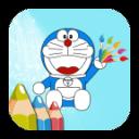 Nobita Coloring Game For Dorae