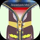 Mini Yellow Zipper Lock HD - Lock Screen