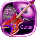 3D電吉他音樂主題