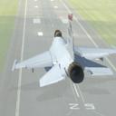 喷气式战斗机飞行着陆模拟器3D