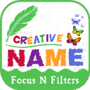 Creative Name Art - Focus N Filter