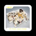 3D家庭布局设计