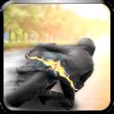 高速公路摩托车交通赛车