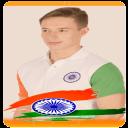 印度国旗照片衬衫独立照片制造商