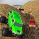大怪物卡车拉力赛 - 4x4上坡攀登