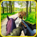 騎馬者極力狩獵