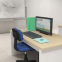 逃脱游戏-有清洁感的办公室逃离
