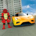 忍者飞龟战士VS变换机器人