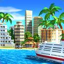 热带天堂:小镇岛 - 城市建造模拟游戏