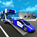警车转运船舶
