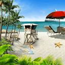 夏日沙滩动态壁纸