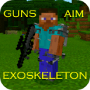 Desno Guns Mod for MCPE