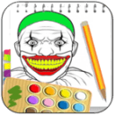 How to draw clown