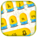 Cute Yellow Cartoon Keyboard Theme