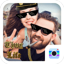 Thug Life Camera-Free coolest motion sticker