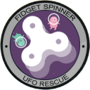 Fidget Spinner UFO Rescue