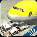 机场地面飞行工作人员3D