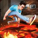 地板熔岩3D挑战模拟器