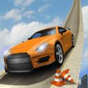 不可能的汽车驾驶游戏:极限曲目3D