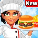 女孩烹饪游戏 食品厨师餐厅