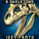 3D骨骼拆解