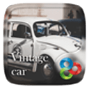 Vintage car Go Launcher Theme
