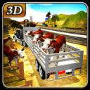 农场动物运输车