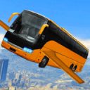 未来的飞行公共汽车赛