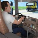 在 卡车 主动 游戏: 越野 模拟器