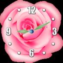 玫瑰 时钟小工具