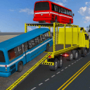 巴士运输卡车飞行