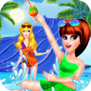 Fashion High School Summer - Beach  Party